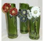Váza - piros virággal