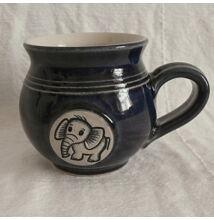 Kék elefántos bögre - kicsi, emblémás