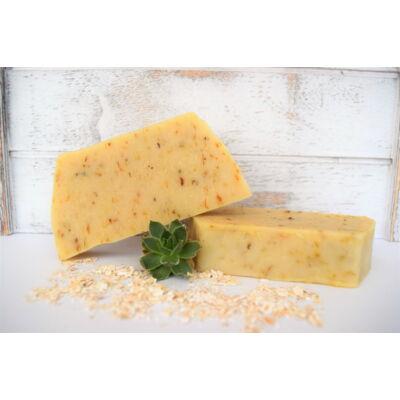 Szappan - Körömvirágos-kecsketejes kézműves szappan