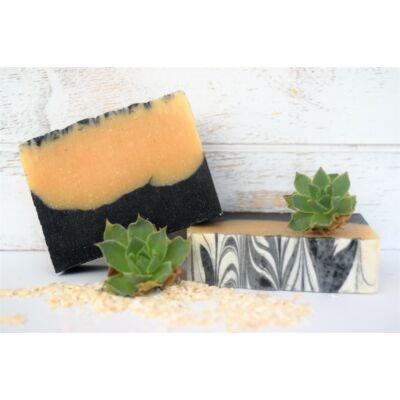 Szappan - Szenes-kecsketejes kézműves szappan