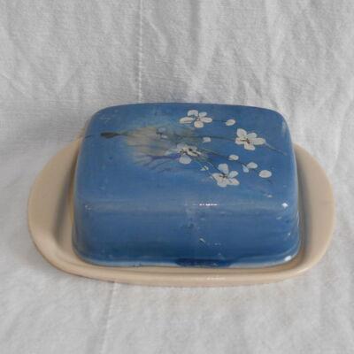 Vajtartó - kék virágos
