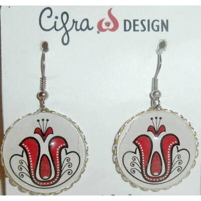 Cifra design - akasztós fülbevaló 5.
