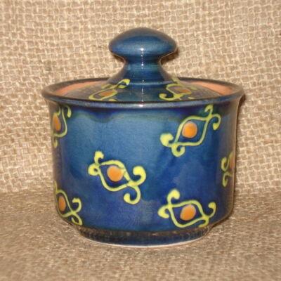 Kék cukortartó
