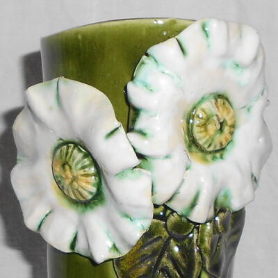Váza - fehér virággal
