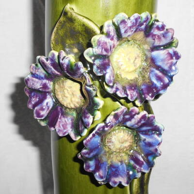 Váza - kék virággal