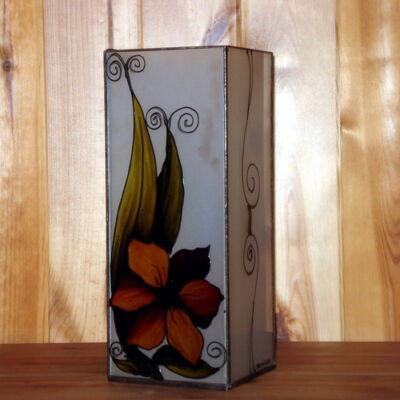 Váza sárga virágos