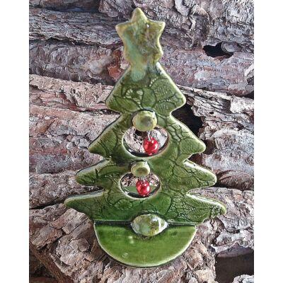 Karácsonyfa  asztaldísz  - kicsi